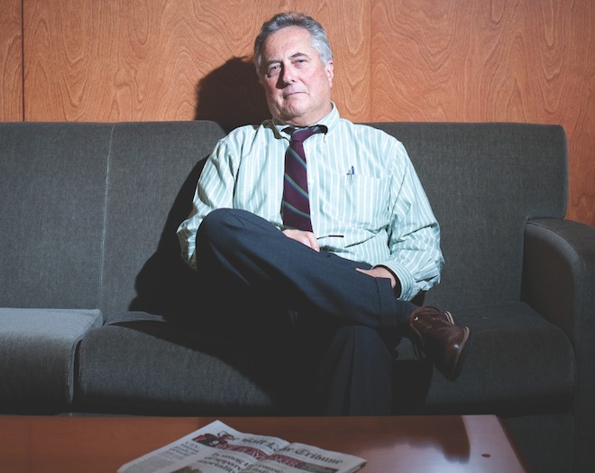 Tribune Editor & Publisher Terry Orme