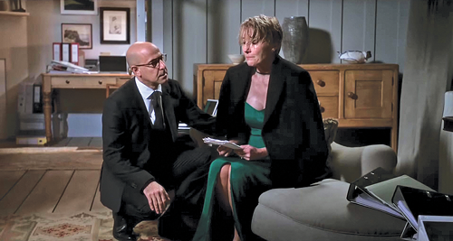 Stanley Tucci and Emma Thompson in The Children Act - 24 FILMS