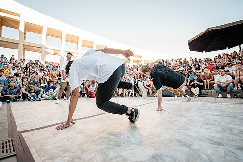 Bboy Federation performs for the 2017 Utah Arts Festival crowd - TREVOR HOOPER