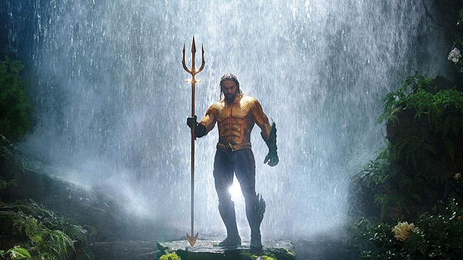 Jason Momoa as Aquaman - WARNER BROS. PICTURES