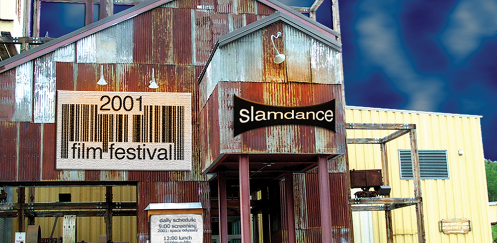 A venue from the 2001 Slamdance Film Festival. - PETER BAXTER