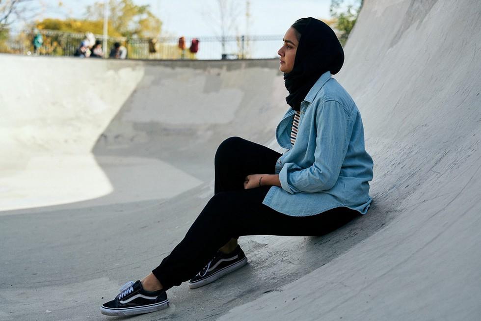 Geraldine Viswanathan in Hala - SUNDANCE INSTITUTE