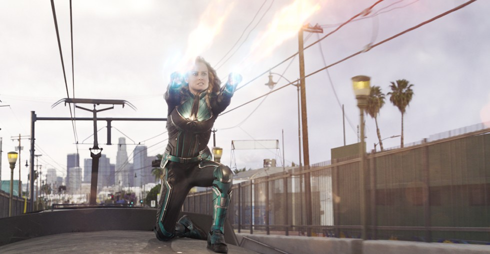 Brie Larson in Captain Marvel - MARVEL STUDIOS