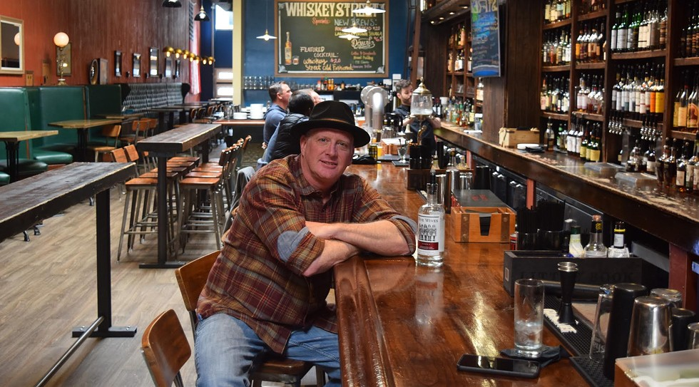 """""""The craft spirits movement nationwide is growing,"""" Ogden's Own Distillery owner Steve Conlin says, reflecting on 10 years in Utah. - RAY HOWZE"""