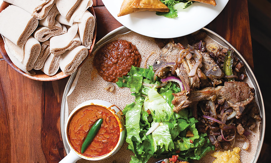 Mahider Ethiopian Restaurant - DEREK CARLISLE