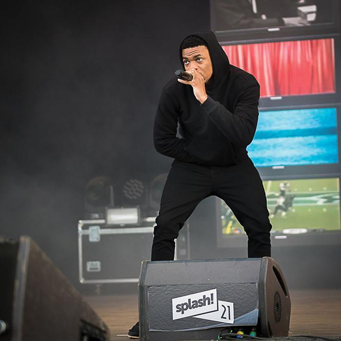 Twilight Concert series headliner Vince Staples performs in 2018 - LUKAS HENKEL