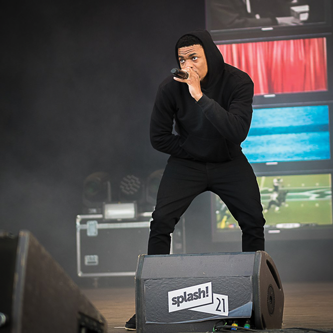Twilight Concert series headliner Vince Staples performs in 2018 - LUKAS HENKEL