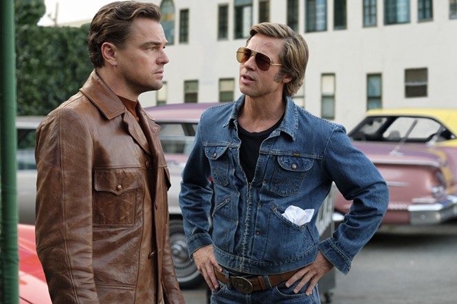 Leonardo DiCaprio and Brad Pitt in Once Upon a Time ... in Hollywood - SONY PICTURES