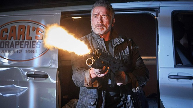 Arnold Schwarzenegger in Terminator: Dark Fate - PARAMOUNT PICTURES