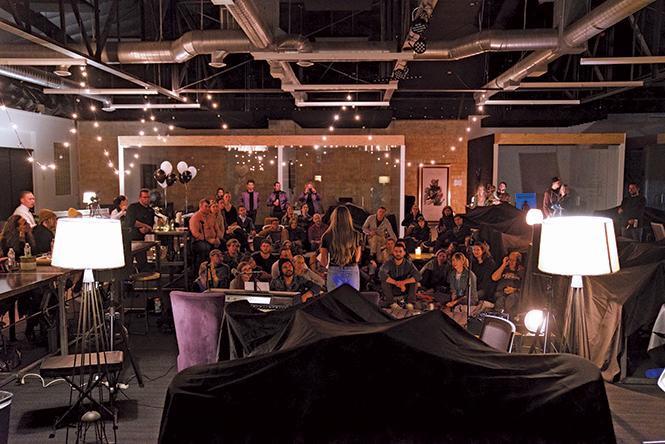Inside one of SoFar Sounds' Salt Lake City shows - COURTESY SOFAR SOUNDS