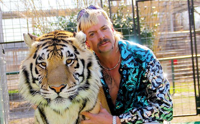 Wild thing: Tiger King's Joe Exotic. - NETFLIX