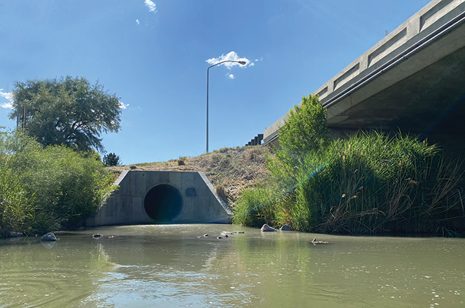 River planners say Salt Lake County's aging stormwater drains contribute to river pollution. - BENJAMIN WOOD