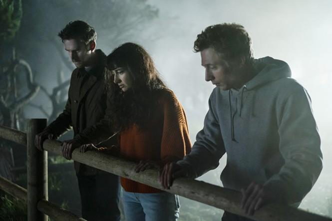 Dan Stevens, Sheila Vand and Jeremy Allen White in The Rental - IFC FILMS
