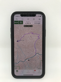 Your smartphone can mimic a GPS device - COURTESY OF JASON STEVENSON