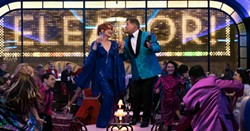 Meryl Streep and James Corden in The Prom. - NETFLIX