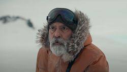 George Clooney in The Midnight Sky - NETFLIX