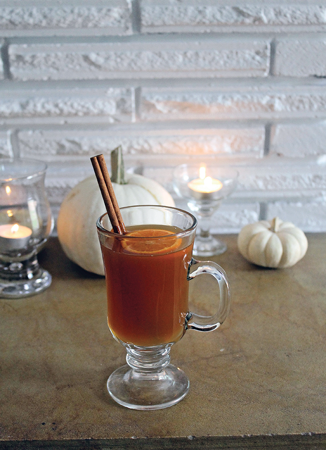 Warm Rum & Cognac Punch - DARBY DOYLE