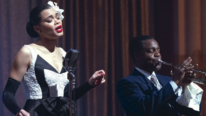 Andra Day in The United States vs. Billie Holiday - HULU