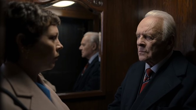 Olivia Colman and Anthony Hopkins in The Father - SONY PICTURES CLASSICS