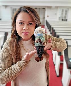 Sanctuary crafts: - Vicky Chavez's Bernie doll - COURTESY PHOTO