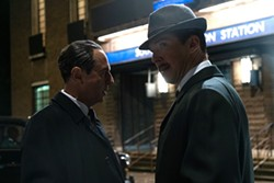 Merab Ninidze and Benedict Cumberbatch in The Courier - LIONSGATE FILMS