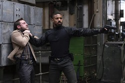 Jamie Bell and Michael B. Jordan in Tom Clancy's Without Remorse - AMAZON PICTURES
