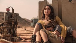 Sofia Boutella and Brooklynn Prince in Settlers - IFC FILMS