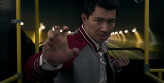 Simu Liu in Shang-Chi and the Legend of the Ten Rings - MARVEL STUDIOS / DISNEY