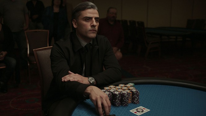 Oscar Isaac in The Card Counter - FOCUS FEATURES