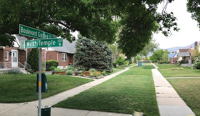 Boulevard Gardens Street