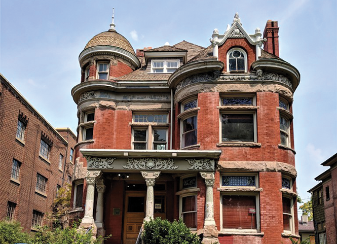 The Henry Dinwoodey House is facing demolition after standing for 130 years.