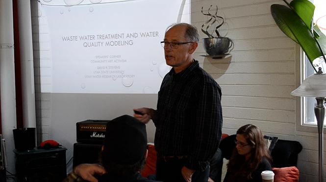 Dr. David Stevens, Utah State University, Head of Environmental Engineering
