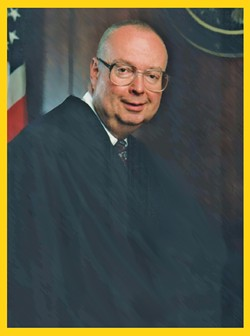 Dean accused Judge Dale A. Kimball, above, of violating his constitutional rights when Dean was convicted of carrying ammunition while a felon.