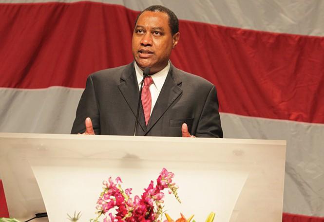 Utah Republican Party Chairman James Evans