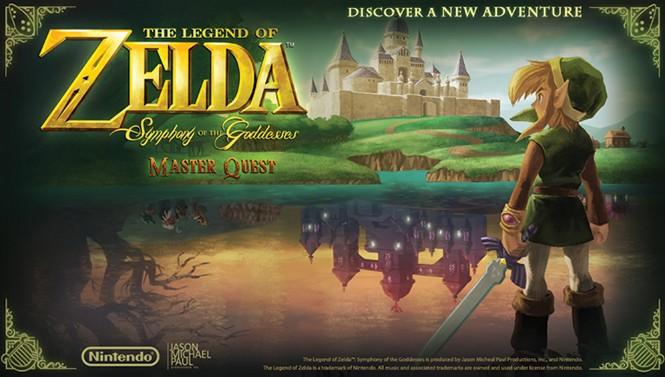The Legend of Zelda: Symphony of the Goddesses—Master Quest