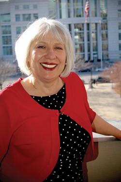 Joanne Milner, education partnership coordinator for the Mayor's Office - ERIC ETHINGTON