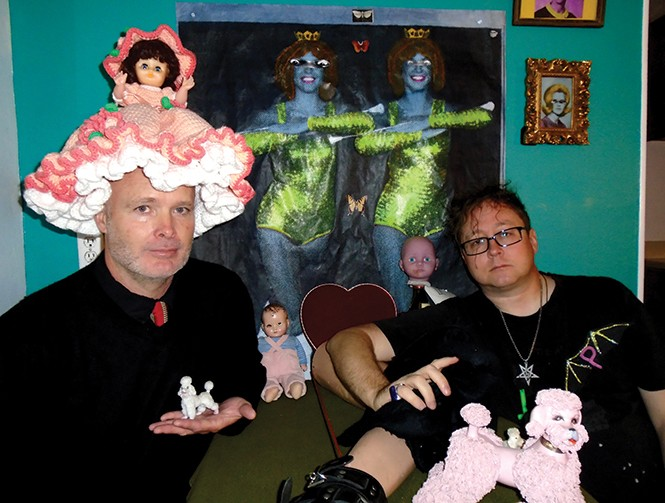 Kyrbir Is-p and Eli Morrison of Purr Bats