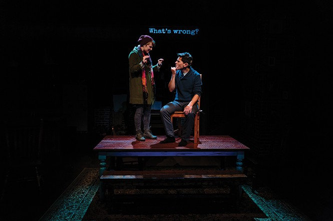 Amy Ware and Stephen Drabicki appear in Tribes (SLAC) through Nov. 15