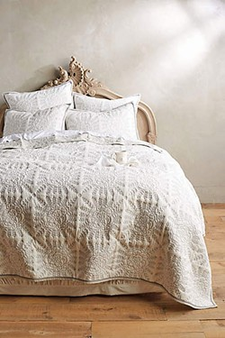 Kloverart coverlet - (Anthropologie)