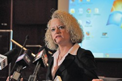 Salt Lake City Mayor Jackie Biskupski.