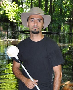 Ary Faraji, Ph.D., Salt Lake City Mosquito Abatement District entomologist - COURTESY
