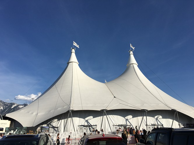 Odysseo's big top - JERRE WROBLE