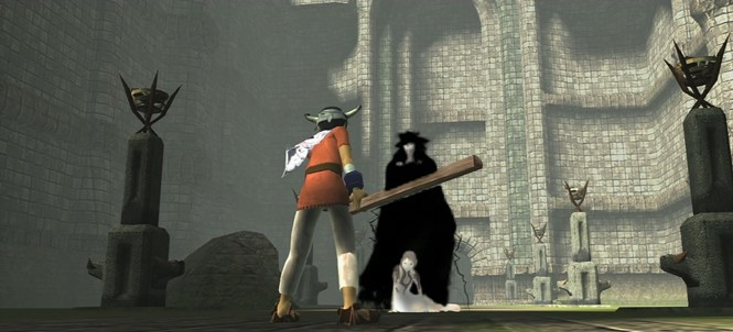 Stand back, magic queen! I have a plank of wood! - TEAM ICO