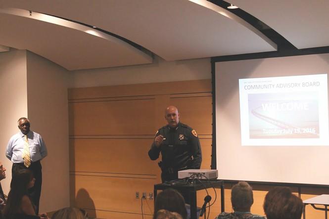 Salt Lake City Police Chief Mike Brown. - JORDAN FLOYD