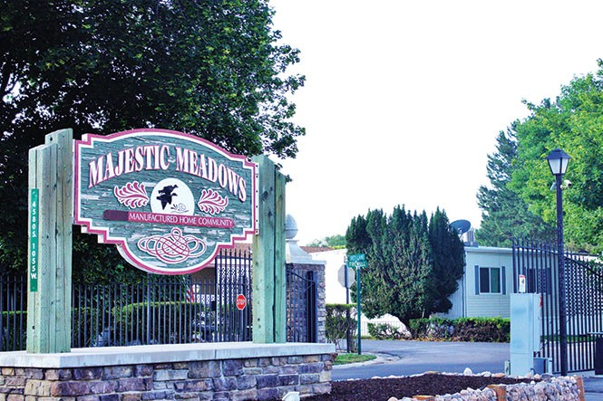 Majestic Meadows mobile home park - JORDAN FLOYD