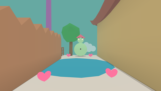Really? You think a pond is stopping me, Sherbet Frosty? - TINYBUILD