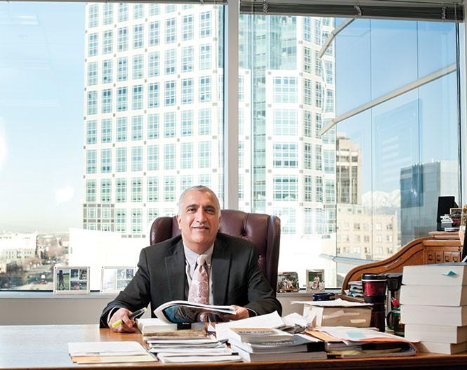 Salt Lake County District Attorney Sim Gill. - NIKI CHAN