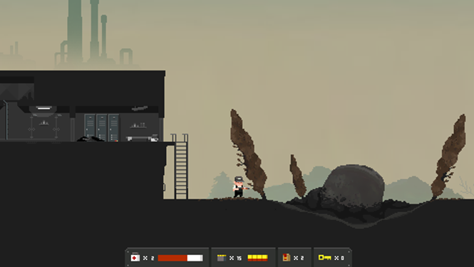 Well that certainly is a big rock. - TINYBUILD GAMES