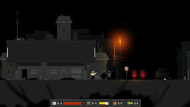 The moonshine in this town is having the weirdest effect on everyone. - TINYBUILD GAMES