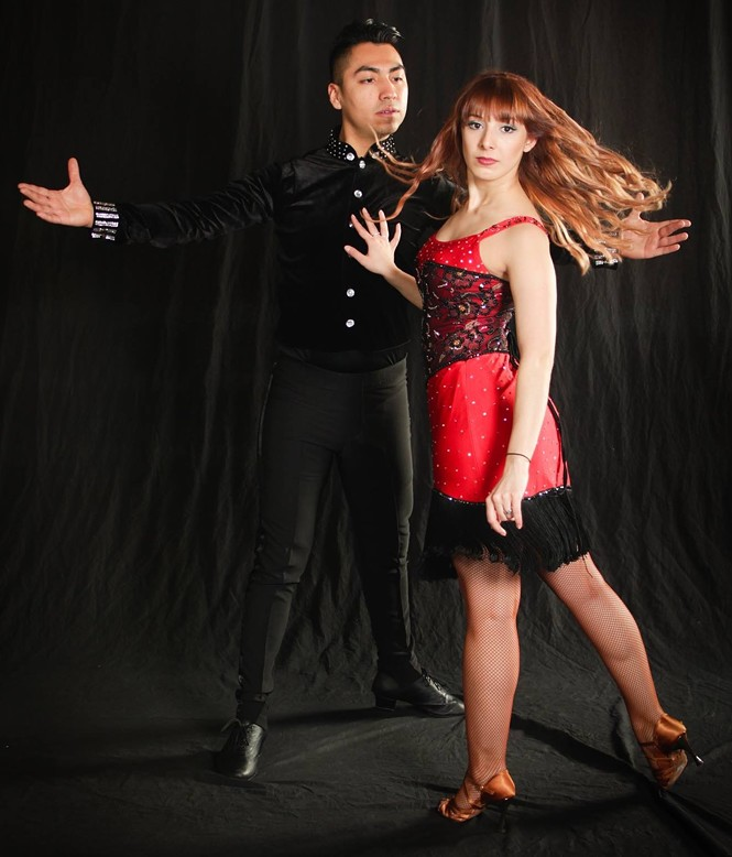 DF Dance Salsa Instructors Julio Morales and Yana Mkrtchyan - KURT MYERS